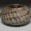 Sage Stepped Spiral Basket