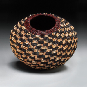 Black and White Pine Basket