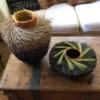 tri color nest basket