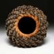 Brown & Tan Spiral Lecheguilla Basket