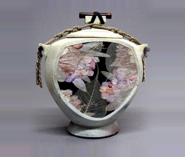 Floral Niche Urn