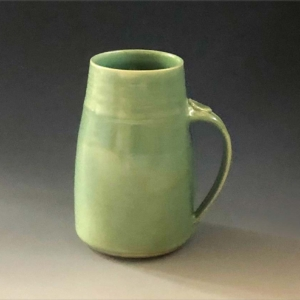 Jade Green Tall Mug