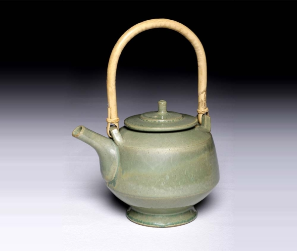 Jade Green Teapot