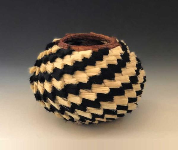 medium hiccup basket side view