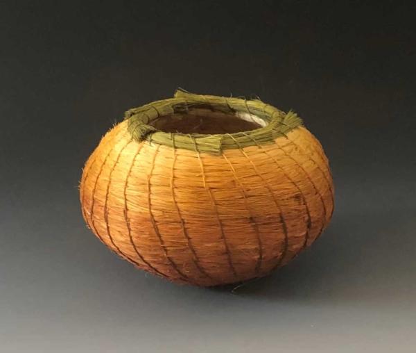 Gold Ombré Basket