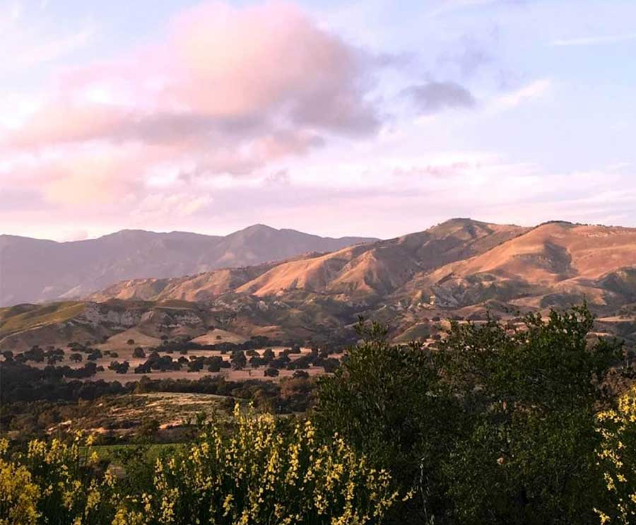 southern CA landscape mountains