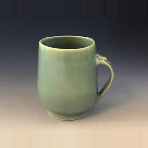Jade Green Coffee Cup