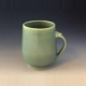 Jade Green Coffee Cup